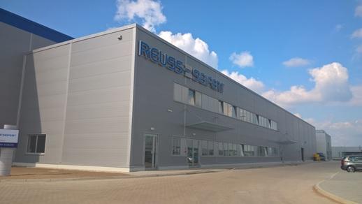 REUSS SEIFERT – Hala produkcyjno – magazynowa z infrastrukturą i obiektami towarzyszącymi