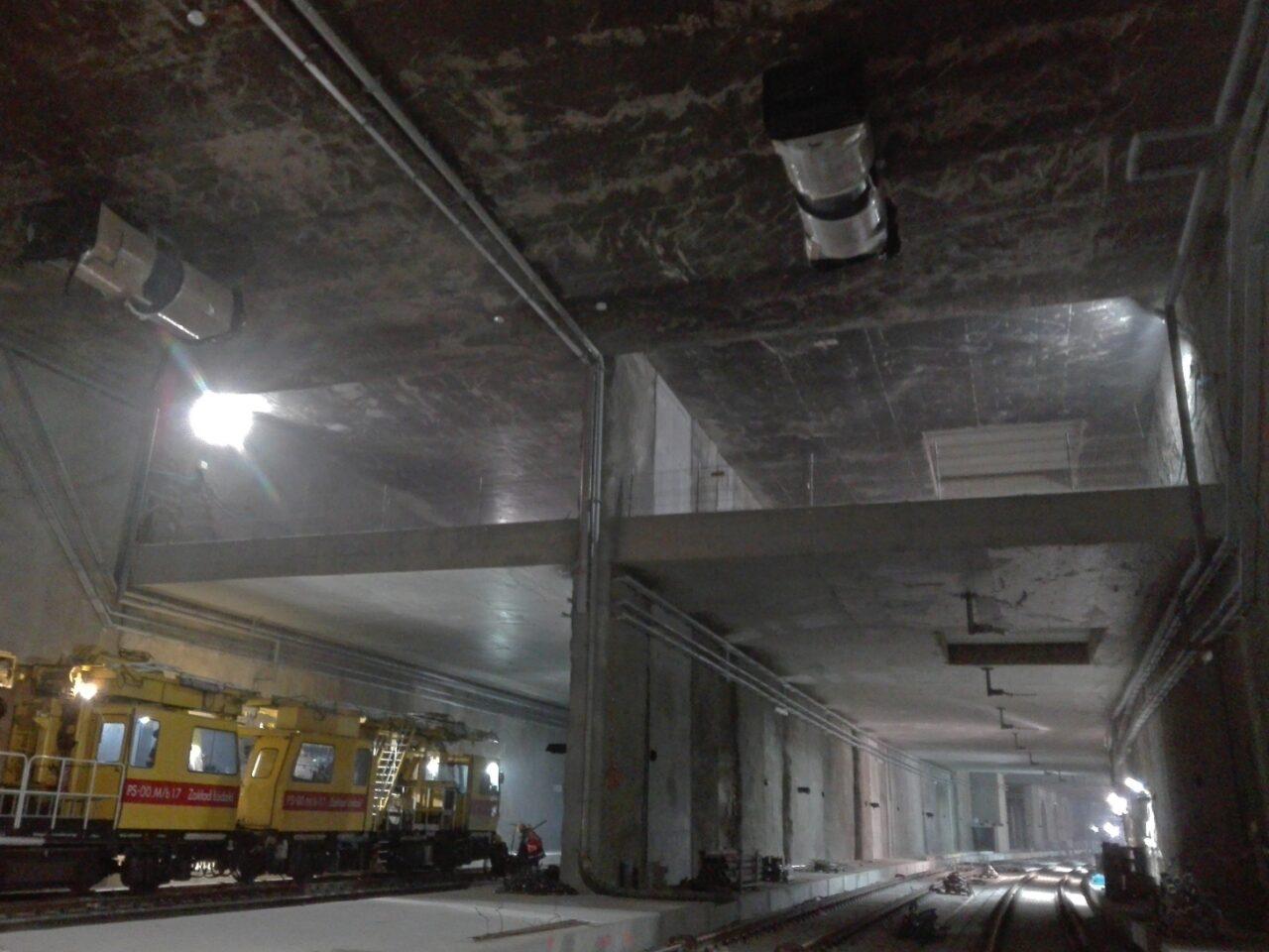 Tunel. Modernizacja linii kolejowej Warszawa – Łódź